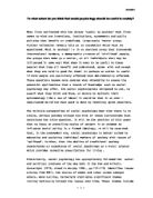 gcse beam essay november