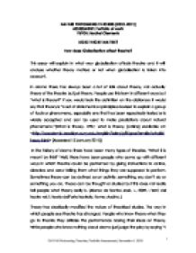 acting styles in ruby moon international baccalaureate drama related international baccalaureate drama essays