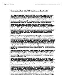 Great depression term paper topics