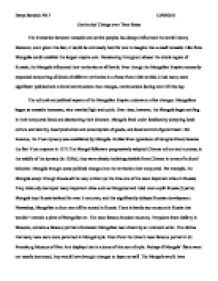 Essay Writing Paper Continuity Change Over Time Essay Dominating Throughout Almost The  Sample High School Essay also Apa Format Essay Paper The Missouri Compromise The Fear Of Politicians Was That If  Essay Examples High School