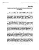 Dorian gray essay topics