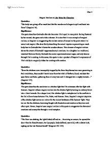 Realism in literature essay introduction