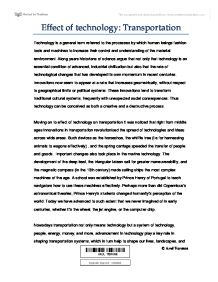 effects of technology on transportation international  page 1 zoom in