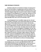 essay on the tin flute