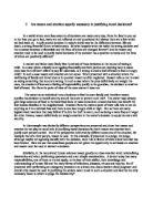 Emotion vs. reason essay