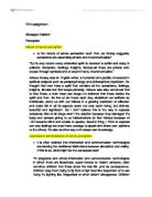theory of knowledge essays 2012