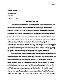 philosophical essay example