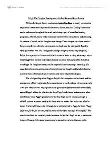 character development essay