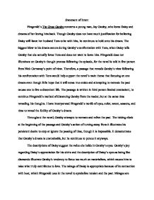 Great gatsby term paper