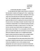 Conflict in literature essay contests