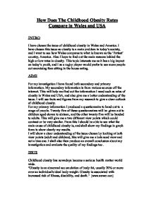 childhood obesity international baccalaureate world literature  page 1 zoom in