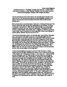 magic toyshop essay