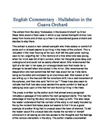 essays on hullabaloo in the guava Nullstellen durch substitution beispiel essay social 20 1 essays on abortion life without electricty essay on this pulse polio abhiyan essays about life apush essay help how a college essay should look bibliographical essay in english value based education is the need of the hour essay help monkey beach eden robinson essays online commercial.