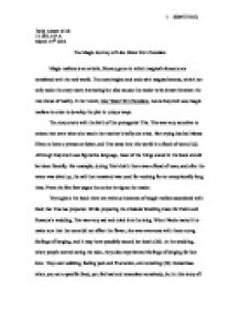 Good High School Essay Examples The Magical Journey In Like Water For Chocolate  International  Baccalaureate World Literature  Marked By Teacherscom Persuasive Essay Samples For High School also Sample Persuasive Essay High School The Magical Journey In Like Water For Chocolate  International  Analytical Essay Thesis Example