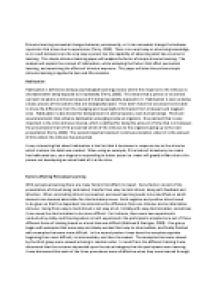 simple stimulus learning 2 essay Many people have a general idea that it is one of the most basic forms of associative learning,  unconditioned stimulus  of classical conditioning.