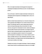 using examples taken from at least two of the research papers you  the aim of this essay is to identify the strengths and weaknesses of combining