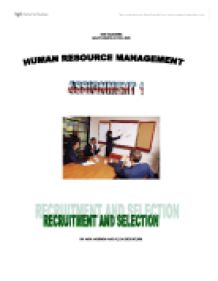 Human Resources what is a major in college