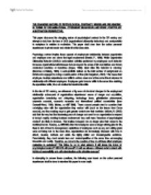 flexible firm john atkinson 1984 subcontracting