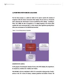 porters five forces model on vodafone marketing essay The 5 competitive forces framework in a technology mediated environment do these assistant professor marketing widely known as porter's forces model.
