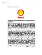 royal dutch shell corporate social responsibility Corporate research center royal dutch shell plc: search for another company enter company name or symbol: company news.