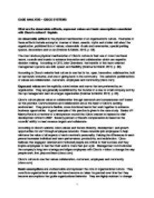 organizational values in nursing essay