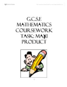 g.c.s.e. maths coursework Resit or pass as an adult with ics learn will prepare you for the edexcel gcse mathematics answer any questions you have about coursework.