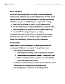 business strategy of virgin atlantic airlines essay