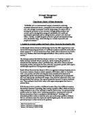 strategic analysis of walmart - University Business and