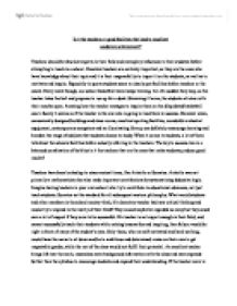 is it good study subjects in college before the semester about essay