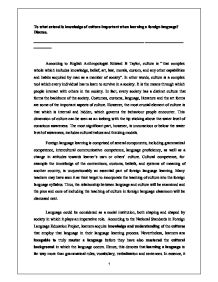 essay about importance of learning foreign language