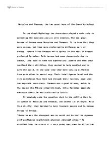 Descriptive Essay Topics For High School Students Hercules And Theseus The Two Great Heros Of The Greek Mythology   University Historical And Philosophical Studies  Marked By Teacherscom Thesis For A Persuasive Essay also Sample Essay Thesis Hercules And Theseus The Two Great Heros Of The Greek Mythology  High School Essays Examples