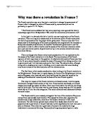 causes of french revolution essay plan university historical and  why was there a revolution in