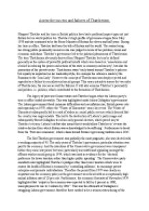 thatcher and thatcherism essay Thatcherism claims to promote low inflation, the small state, and free markets through tight control of the money supply, privatisation and constraints on.