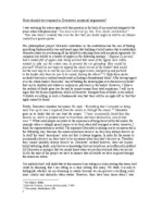 descartes education essay