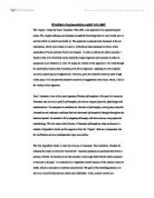Descartes cogito argument essay