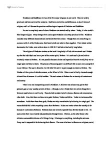 hinduism and buddhism university historical and philosophical page 1 zoom in