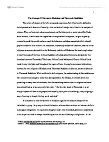 the concept of dharma in hinduism and theravada buddhism page 1 zoom in