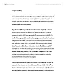 Compare And Contrast Essay Examples For High School Page  Zoom In Buy Essays Papers also Sample Essay High School Company Law Essay S  Defines A Director As Including Any  High School Essays