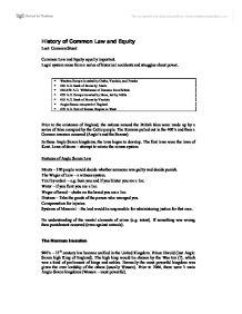 common law and equity essay Required to maintain the separation of equitable doctrine from common law rules   see for example, finn pd0 'equitable estopwj' in fnm pl)(ed) essays in.