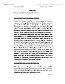 The Benefits Of Learning English Essay Essay On Tolerance Essay Examples For High School also Sample High School Essays Essay On Tolerance  Underfontanacountryinncom Proposal Essay Ideas