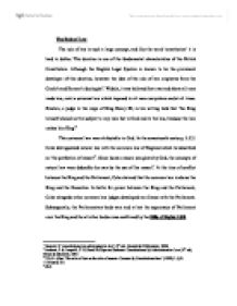 rule of law british constitution essay