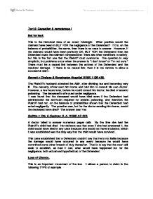 Law essay question University Tort Negilgence?