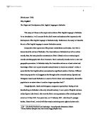Explain the origin and development of essays The best essay