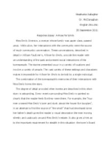 response essay william faulkners a rose for emily university  page