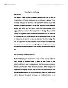 Digging poem essay conclusion