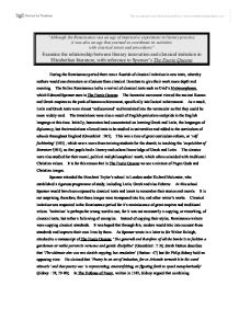 classical and renaissance tragedy english literature essay If you have been assigned a compare and contrast essay on medieval english literature vs renaissance and do not have much time on your hands to begin a full-fledged research crusade, the following 13 facts will inspire you to come up with an essay thesis.