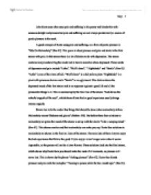 essay on pain and suffering
