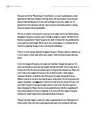 Revelation poem liz lochhead analysis essay