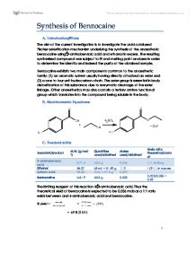 synthesis of benzocaine mechanism Lidocaine vs benzocaine lidocaine: structure & mechanism of action lidocaine: classification protein synthesis lesson for kids.
