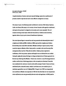 reintegration of prisoners essay